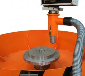 Máquina para el balanceo de rotores de peso de hasta 250 kg y un diámetro de hasta 1000 mm tb vert 250 de la producción Tehnobalans