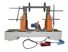 Balancing machine TB 1000 for the balancing of rotors up to 1000 kg manufactured by Tehnobalans