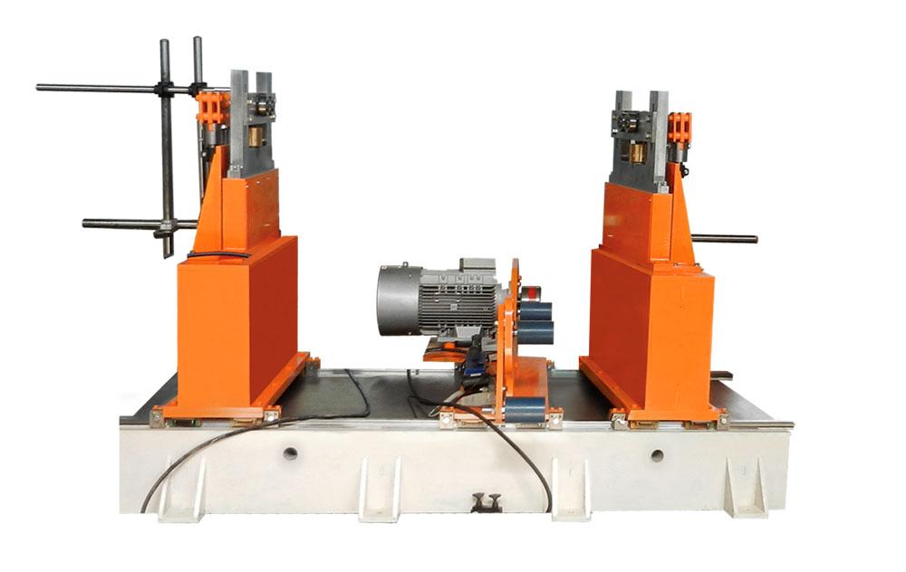 Máquina para el balanceo de rotores de peso de hasta 3000 kg tb 3000 producción Tehnobalans