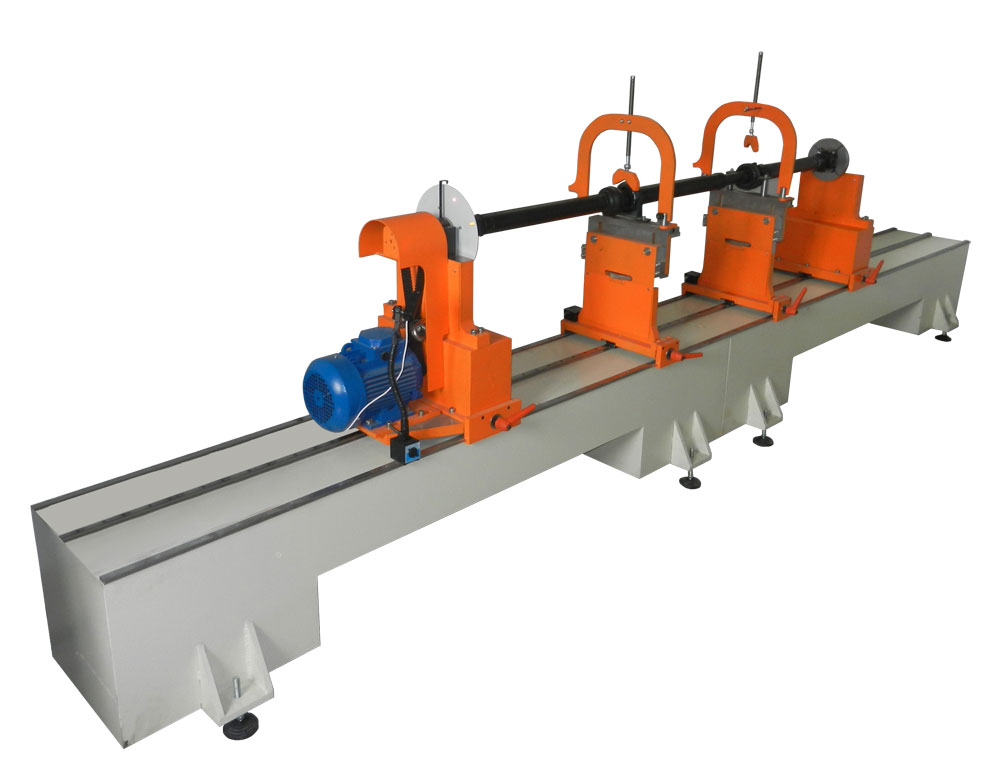 Machine for balancing of drive shafts weighing up to 400 kg TB Kardan 4000 production Tehnobalans