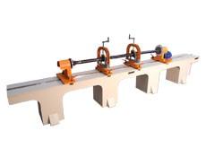 Балансировочный станок ТБ Кардан Оптима 4600 для балансировки карданных валов весом до 300 кг производства Технобаланс