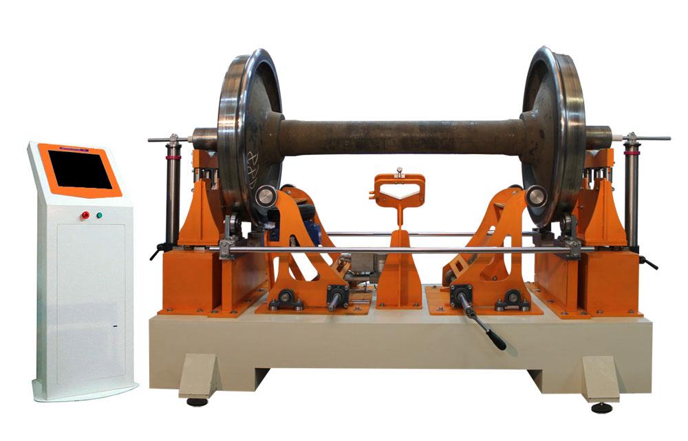 Станок для балансировки колесных пар железнодорожного состава  ТБ КП  производства Технобаланс