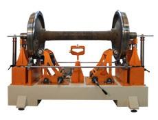 Балансировочный станок ТБ КП производства Технобаланс для балансировки колесных пар железнодорожного состава