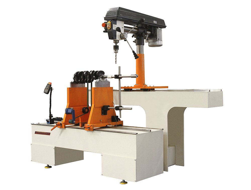 The balancing machine for crankshafts weighing up to 300kg TB KV 300 production Tehnobalans