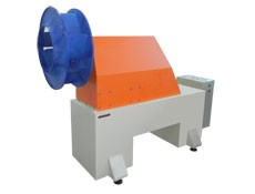 Impeller, blade wheel balancing machine TB Vent 100 manufactured by Tehnobalans