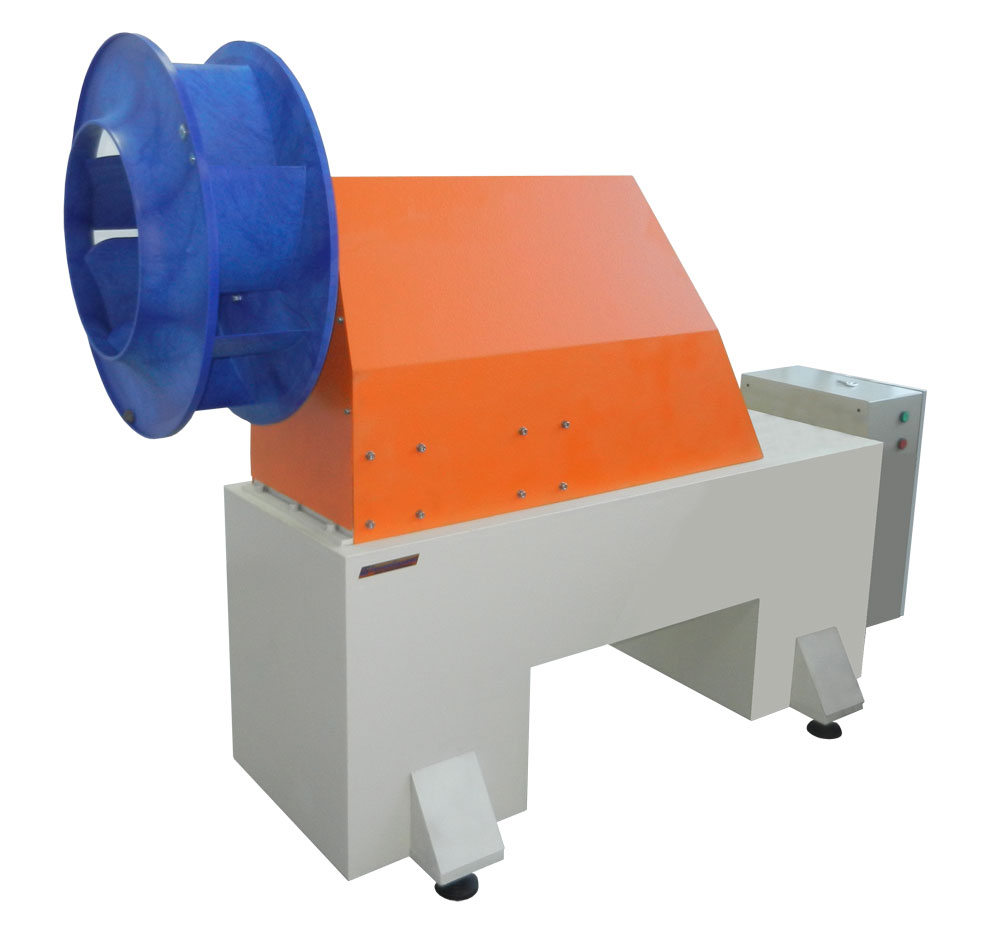 Machine for balancing of fans and impellers weighing up to 100 kg TB Vent 100 production Tehnobalans