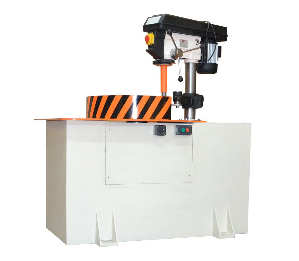 Máquina para el balanceo de rotores de hasta un peso de 100 kg y un diámetro de hasta 650 mm tb vert 100 de la producción  Tehnobalans