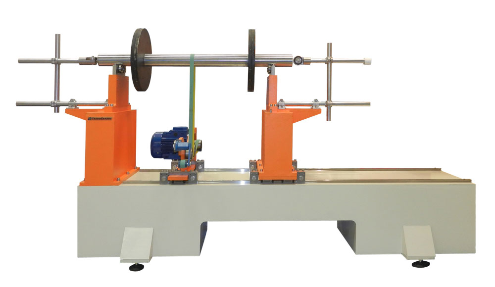 Machine for balancing rotors weighing up to 500 kg TB 500 production Tehnobalans