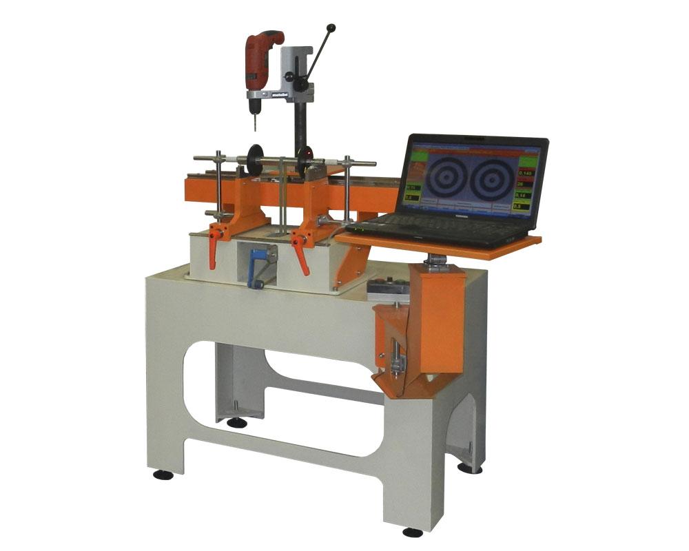 Máquina para el balanceo de rotores de hasta 20 kg TB 20 producción de la empresa Tehnobalans