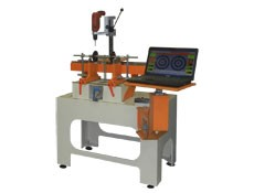 Balancing machine TB 20 for the balancing of rotors up to 20 kg manufactured by Tehnobalans