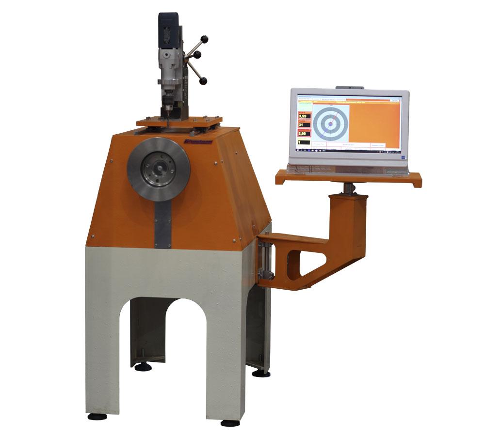 Máquina de equilibrio de hélices de los ventiladores y un peso de hasta 20 kg tb Vent 20 producción de Tehnobalans