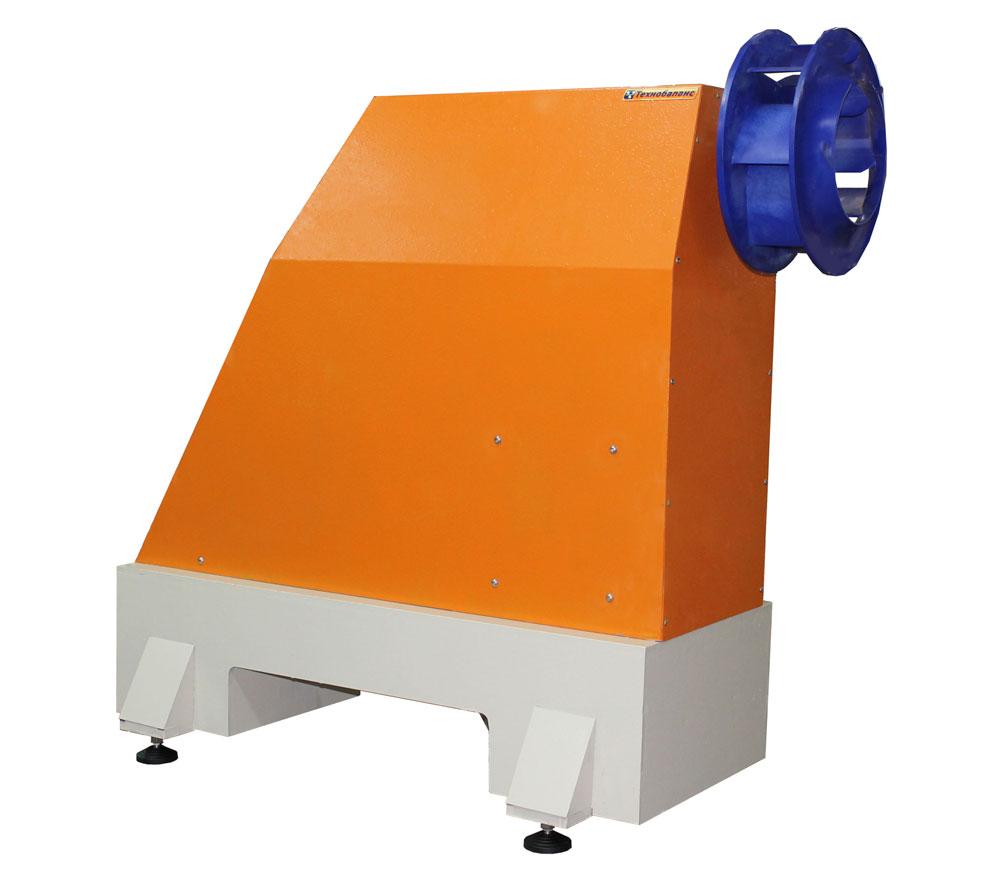 Станок для балансировки вентиляторов и крыльчаток весом до 50 кг  ТБ Вент 50  производства Технобаланс