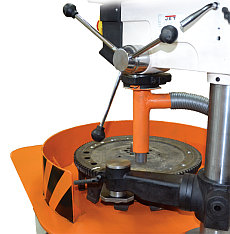 Machine for balancing rotors weighing up to 100 kg and a diameter up to 650 mm TB Vert 100 production Tehnobalans