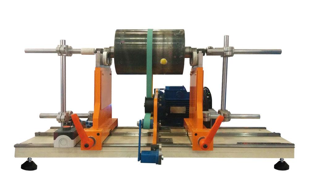 Станок для балансировки роторов, якорей электродвигателей, коленчатых валов, кол валов, валов до 100 кг ТБ 100
