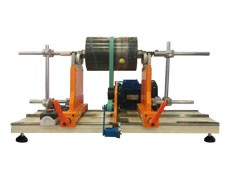 Balancing machine TB 100 for the balancing of rotors up to 100 kg manufactured by Tehnobalans