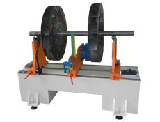 Balancing machine TB 300 for the balancing of rotors up to 300 kg manufactured by Tehnobalans