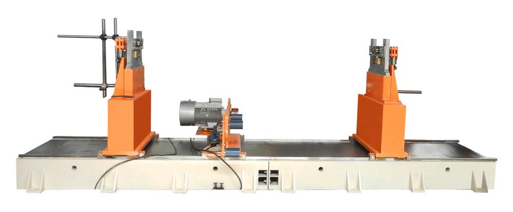 Станок для балансировки роторов, якорей электродвигателей, валов, роторов насоса до 6000 кг ТБ 6000