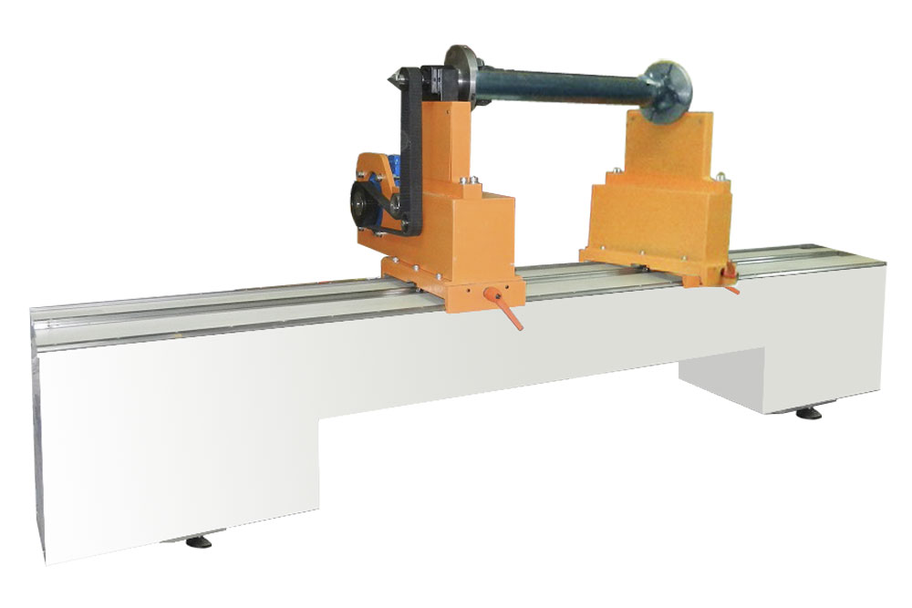 Machine for balancing of drive shafts weighing up to 300 kg TB Kardan 2300 production Tehnobalans