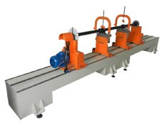 Heavy drive shaft balancing machine TB Cardan 4000 manufactured by Tehnobalans