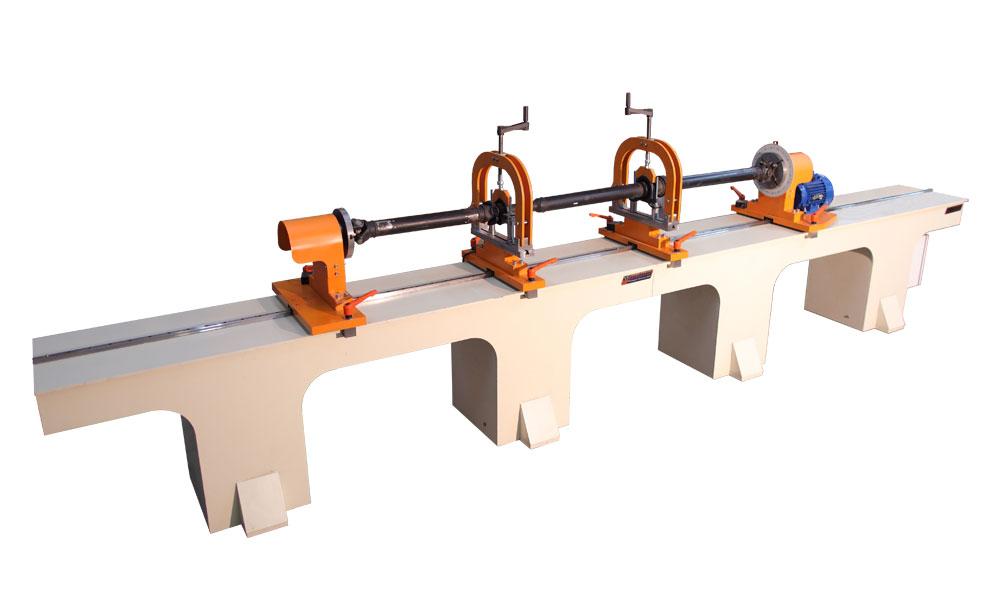 Máquina para el equilibrio de los ejes de peso de hasta 300 kg tb cardn optima 4600 producción Tehnobalans