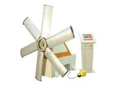 Impeller, blade wheel balancing machine TB Vent 250 manufactured by Tehnobalans