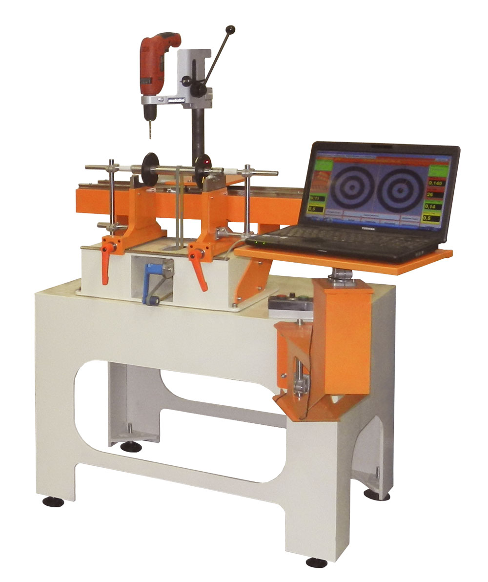 Балансировочный станок для балансировки роторов, якорей электродвигателей, валов настольный до 20 кг