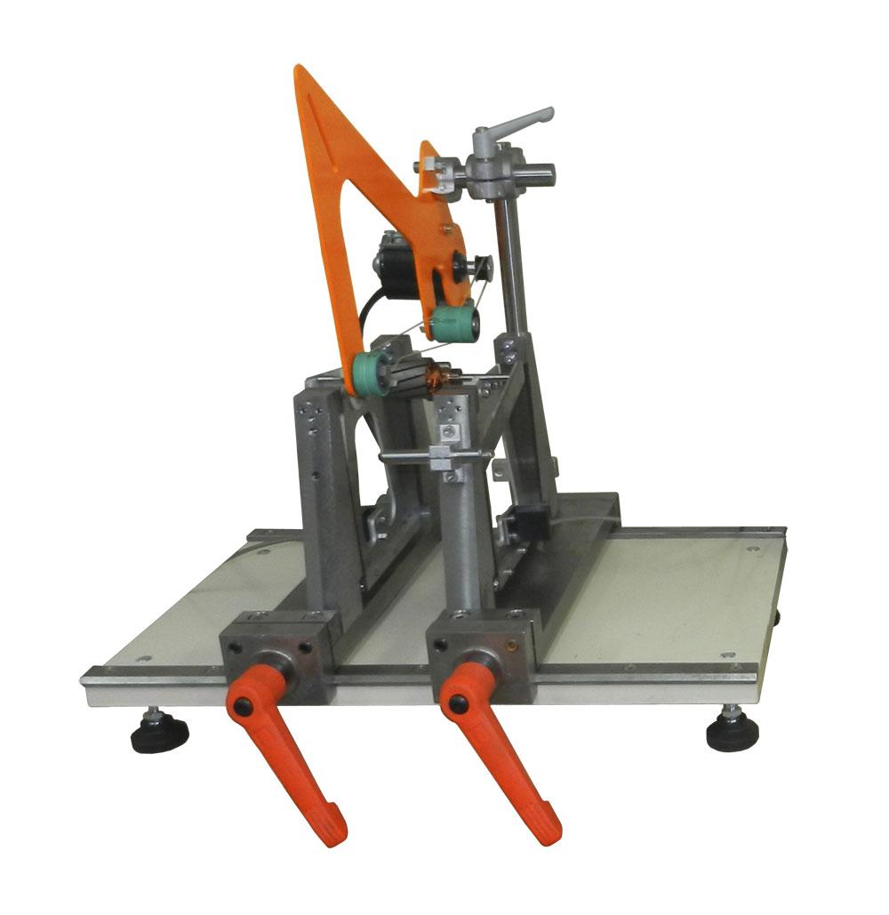 Станок для балансировки роторов, якорей электродвигателей, валов весом до 1 кг