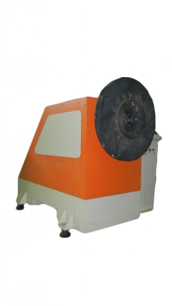 Станок для балансировки вентиляторов весом до 250 кг.